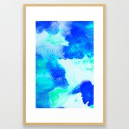 Blue Java Framed Art Print