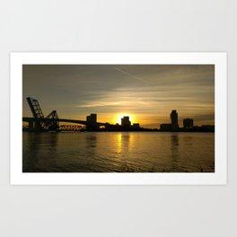 Golden Jacksonville Morning Art Print