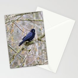 Spring Crow Stationery Cards