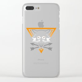 Survivalist Clear iPhone Case