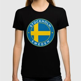 Sweden, Stockholm, circle T-shirt