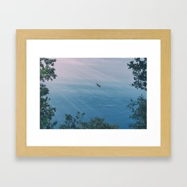 Fly Forever Framed Art Print