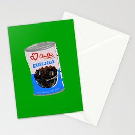 Grass Jelly Stationery Cards