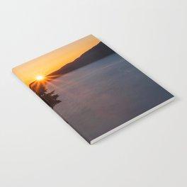 Sunset Tree Top Notebook