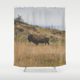 Stand Steady Shower Curtain