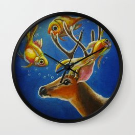 The Unlikely Encounter Wall Clock
