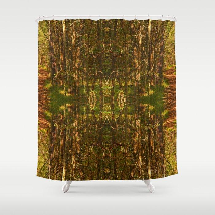 HagonStone Forest Shower Curtain