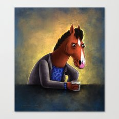 Never let anyone tell you you're pasture prime Canvas Print