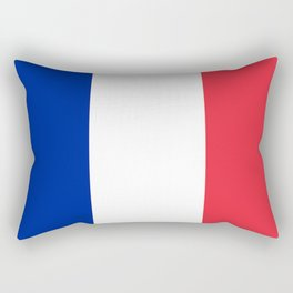 France / French Flag / Drapeau Rectangular Pillow