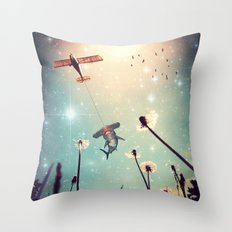 Flying Lessons Throw Pillow