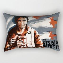 The Resistance Needs You Again! Rectangular Pillow