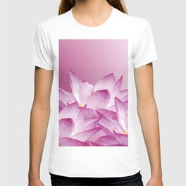 Lotos Flowers Pink T-shirt