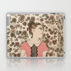Vintage Girl Laptop & iPad Skin
