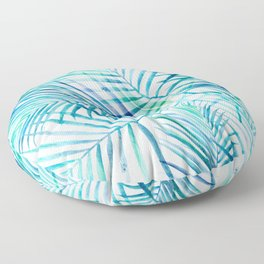 Tropical Palm Pattern Floor Pillow