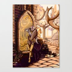 Solas leaves Lavellan Canvas Print