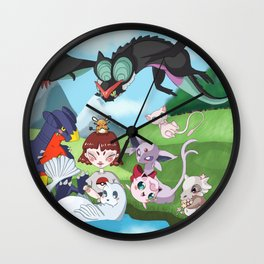 pokefriend Wall Clock