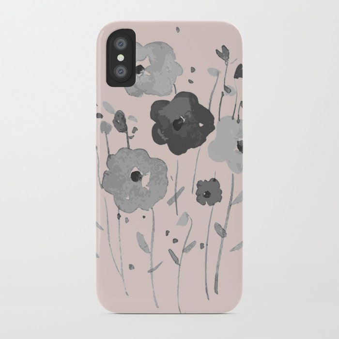 Whimsical spring bloom iPhone Case