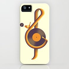 Retro Sound iPhone (5, 5s) Slim Case