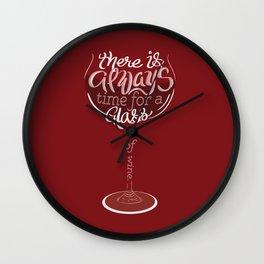 Wine Clock Wall Clock