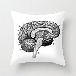Brain 2 Throw Pillow