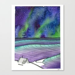 Home In The North Canvas Print