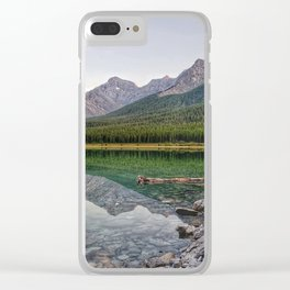 Reflecting on Stillness Clear iPhone Case