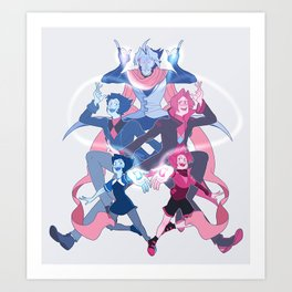 Fusion - Chalcedony Art Print