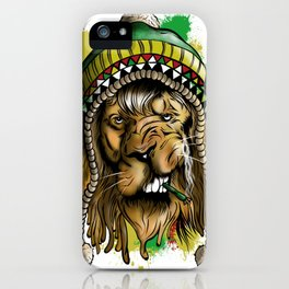 Lion Larnwar iPhone Case