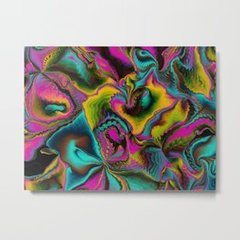 Technicolor 1 Metal Print