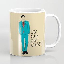 Stay Calm Stay Classy Coffee Mug