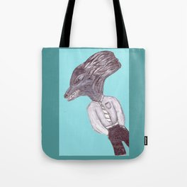 Casual Wolfman Tote Bag