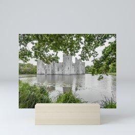 Through the Greenery. Mini Art Print