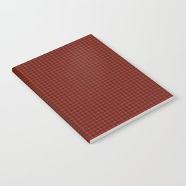 Chisholm Tartan Notebook
