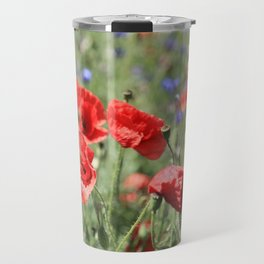 poppy flower no9 Travel Mug