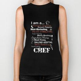 I am a vegetable chopping dessert topping meat marinating palate stimulating taste testing menu best Biker Tank