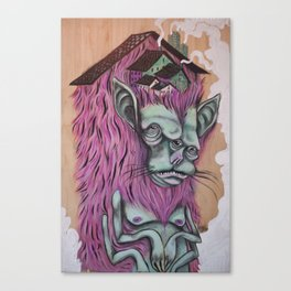 """""""Monster Home"""" Canvas Print"""