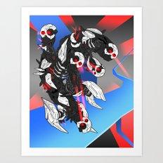 ULTRACRASH 3 Art Print