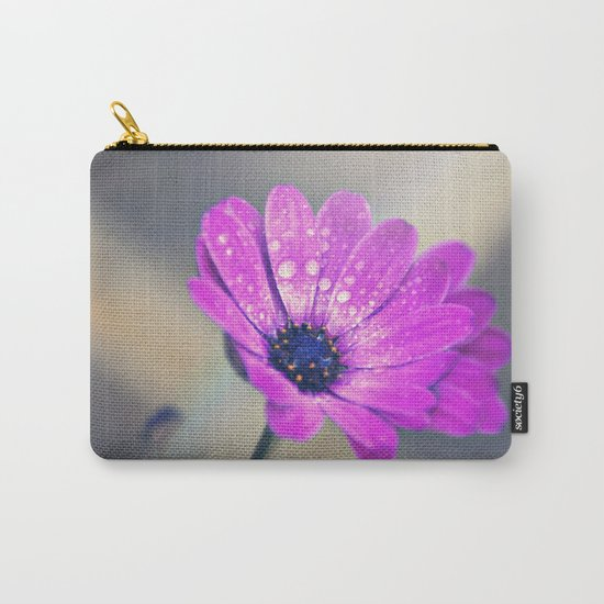 Sunshine flower purple Carry-All Pouch