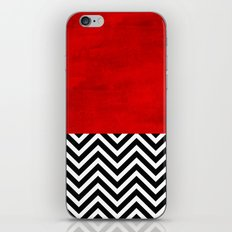 Fire, walk with me. iPhone Skin