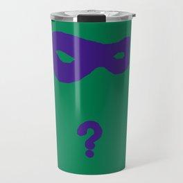 Riddler Icon Travel Mug
