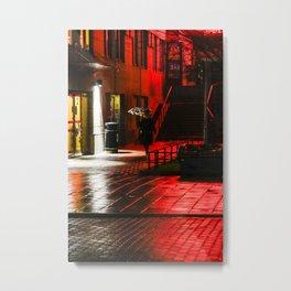 Red light Metal Print