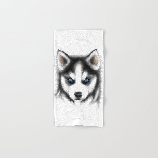 Siberian Husky Hand & Bath Towel