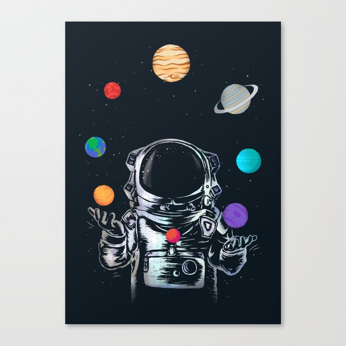Space Circus Canvas Print