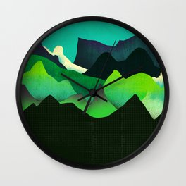 Landscape Slice Wall Clock