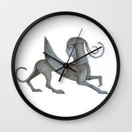 Watercolor Sphinx Wall Clock