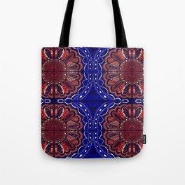 Patriotic Bandanna Tote Bag