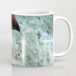 Watercolor Ray, Spotted Eagle Ray 24, St John, USVI Coffee Mug