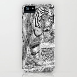Malayan Tiger (Harimau) iPhone Case