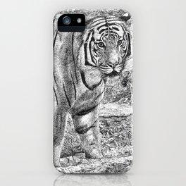 Malayan Tiger (Harimau) iPhone Case