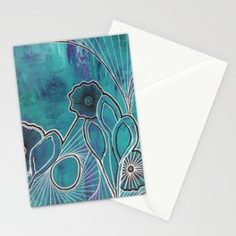 Walking into Spiderwebs Stationery Cards